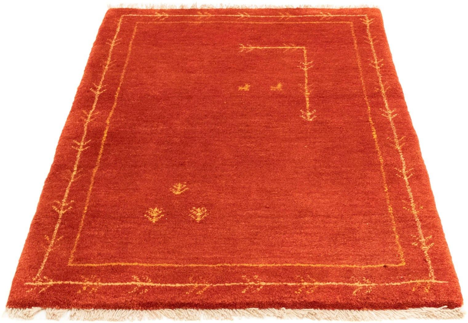 morgenland wollen kleed Gabbeh-kleed met de hand geknoopt rood handgeknoopt bij OTTO online kopen