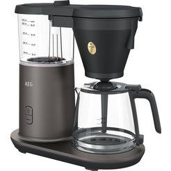aeg filterkoffieapparaat cm7-1-4mtm gourmet 7, 1,15 l zilver