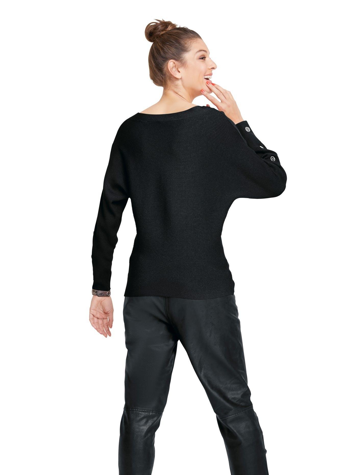 RICK CARDONA by Heine gebreide trui met knoopdetails in de webshop van OTTO kopen
