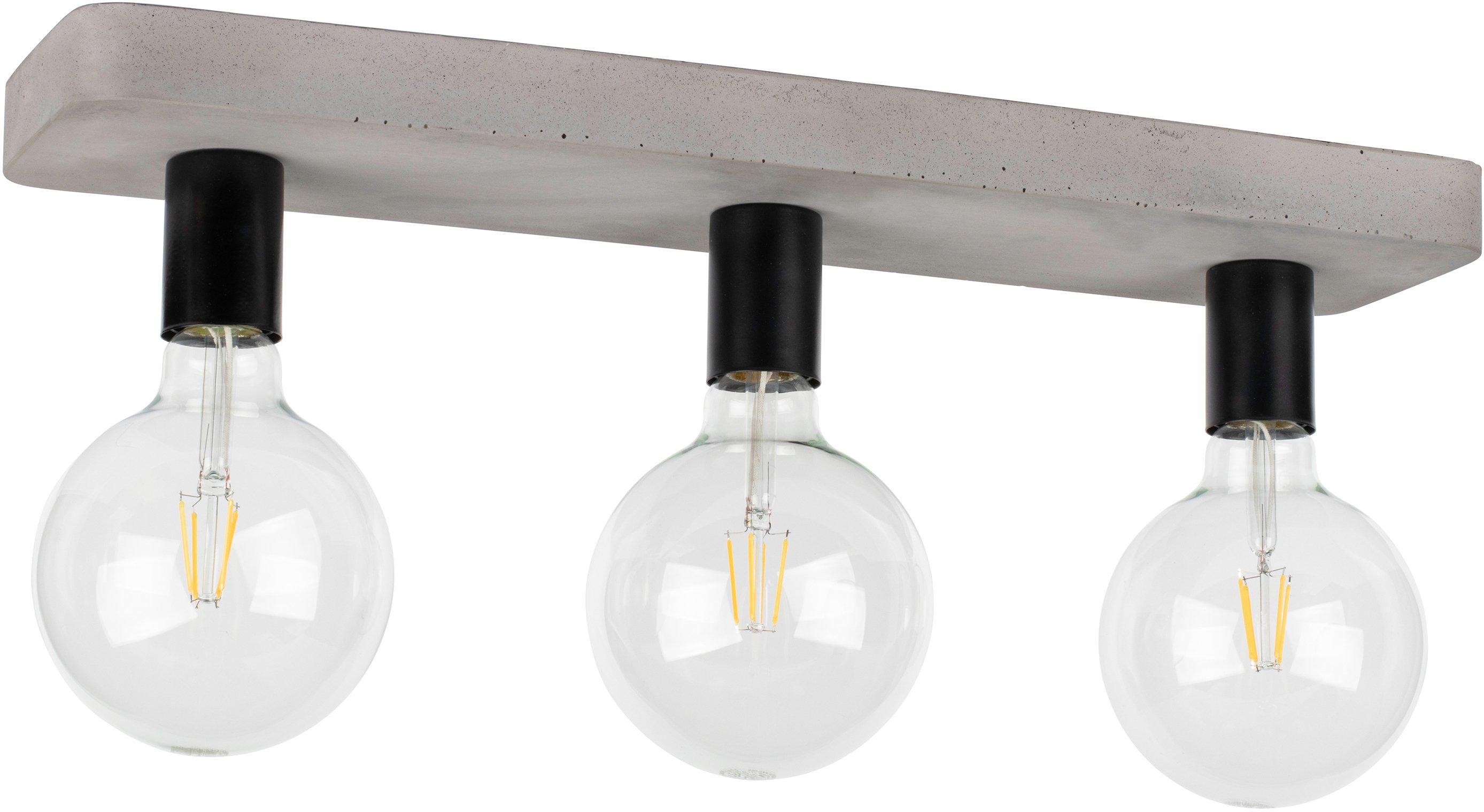 SPOT Light plafondlamp Voortaan Echt beton - met de hand gemaakt, natuurproduct - duurzaam, ideaal voor vintage-lampen, Made in Europe (1 stuk) bij OTTO online kopen