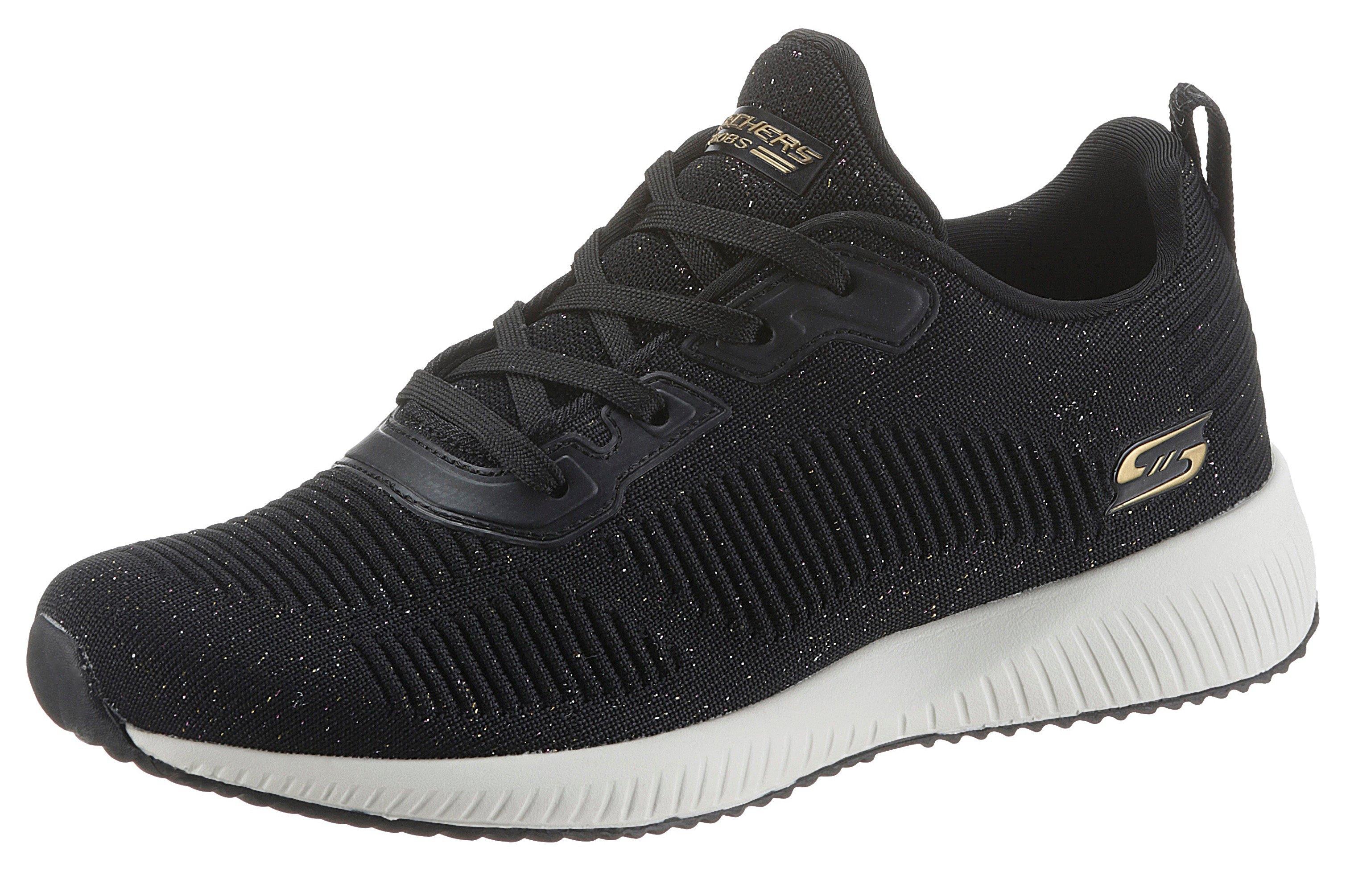 Skechers sneakers BOBS SQUAD - TOTAL GLAM met fijn glittergaren bij OTTO online kopen
