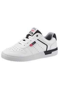 s.oliver sneakers met opgestikt logo wit