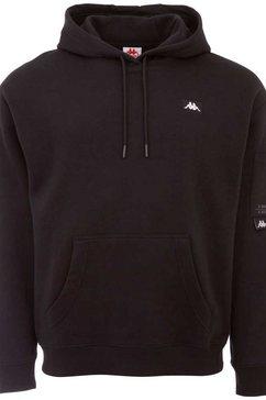 kappa hoodie hilman zwart