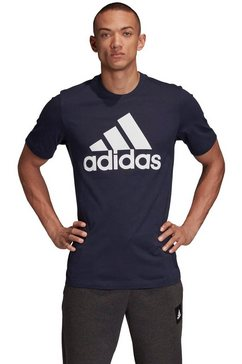 adidas performance t-shirt »mh batch of sports tee« blauw