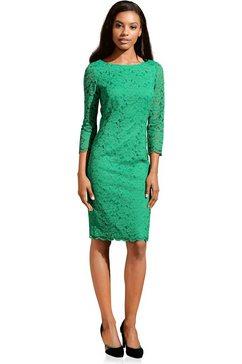 ashley brooke by heine kanten jurk groen