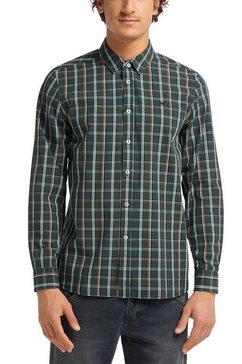 mustang overhemd met lange mouwen »casper kc check« groen