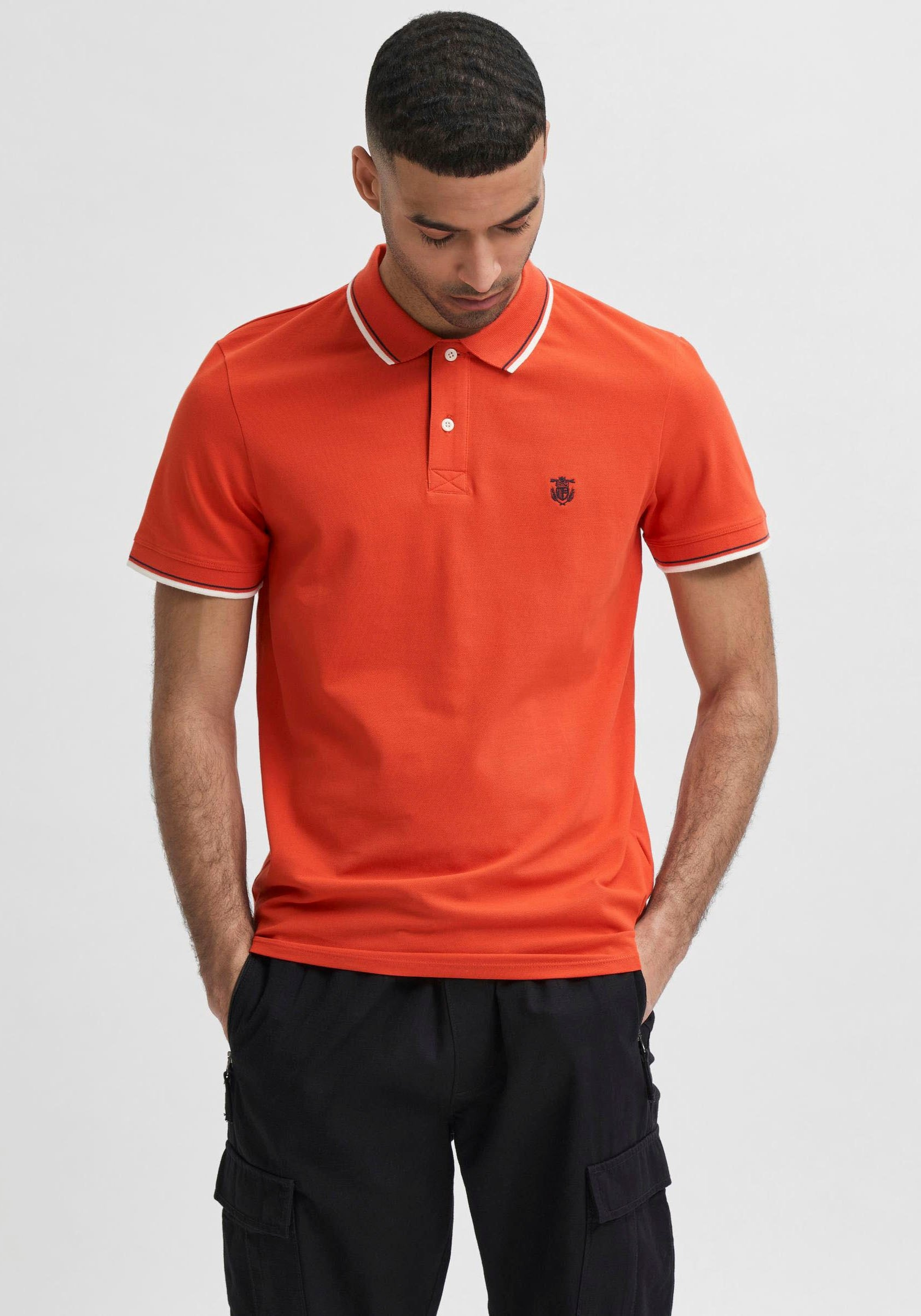Selected Homme poloshirt »NEW SEASON POLO« - gratis ruilen op otto.nl