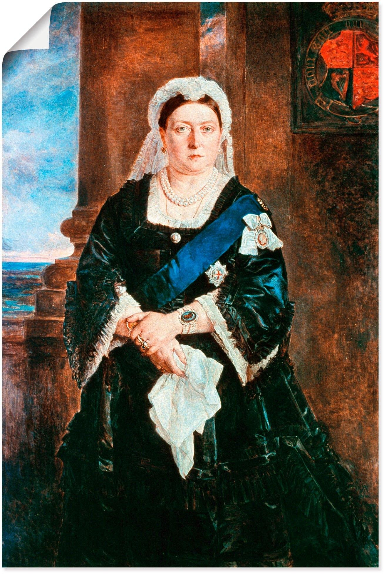 Artland artprint »Königin Victoria von England, 1883« in de webshop van OTTO kopen
