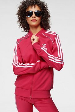 adidas originals trainingsjack roze