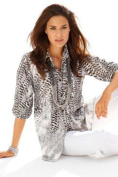 blouse grijs