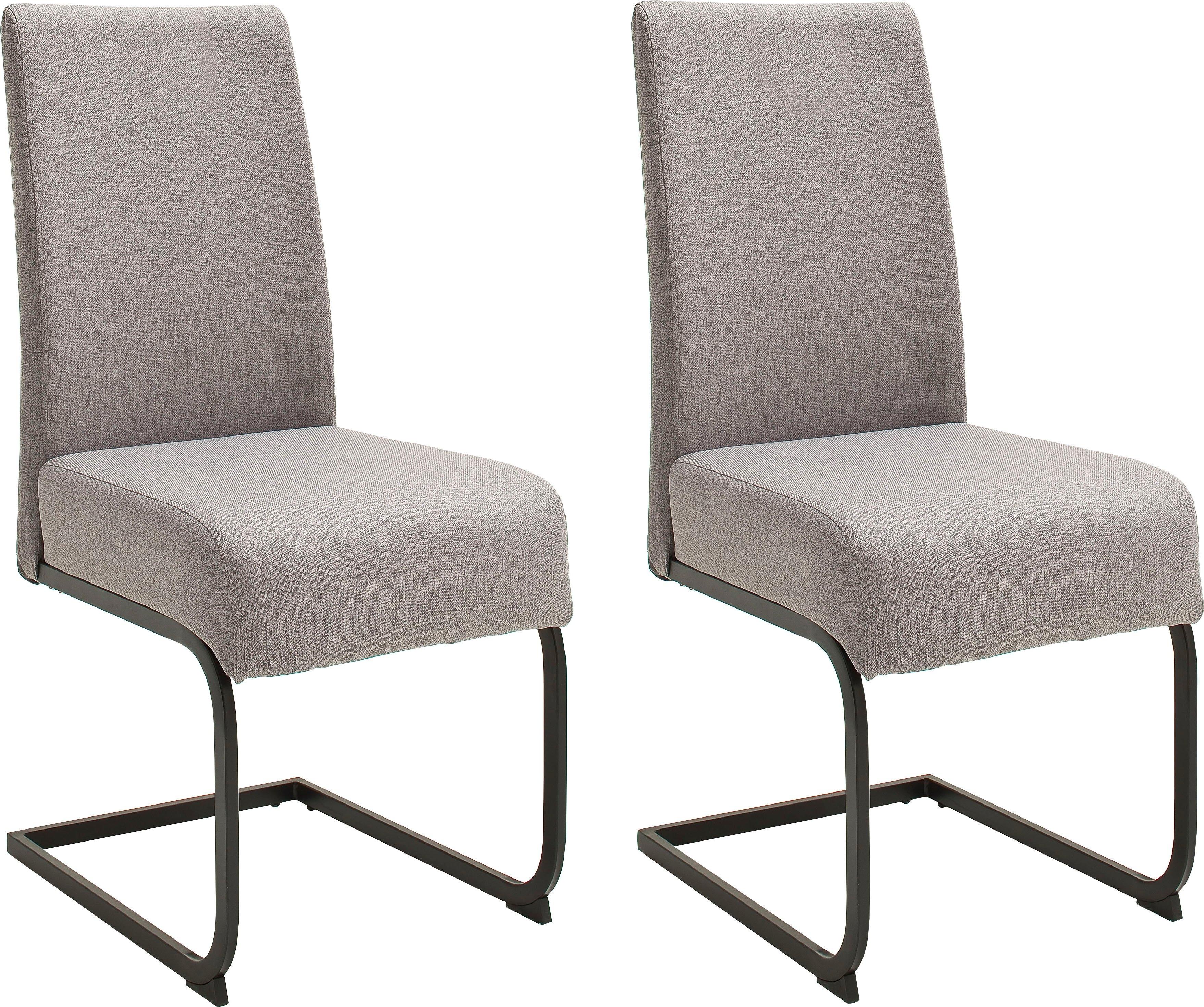 MCA furniture eetkamerstoel Esteli Bekleding fijnweefsel, stoel belastbaar tot 120 kg (set, 2 stuks) - gratis ruilen op otto.nl