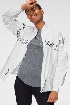 puma trainingsjack »train untamed woven jacket« wit