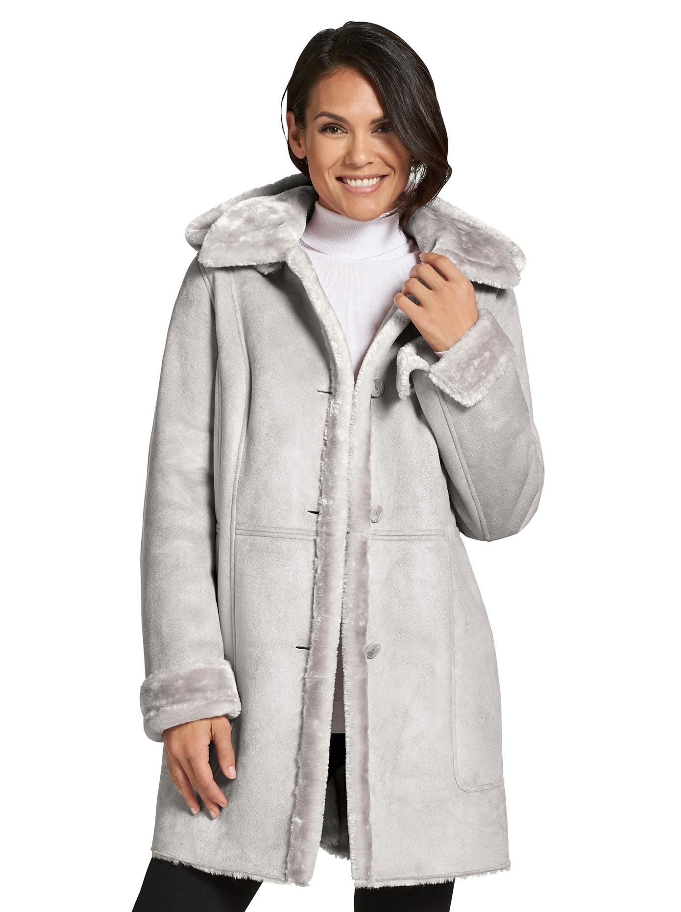Op zoek naar een Casual Looks Mainpol jas van zachte imitatielamsvacht? Koop online bij OTTO