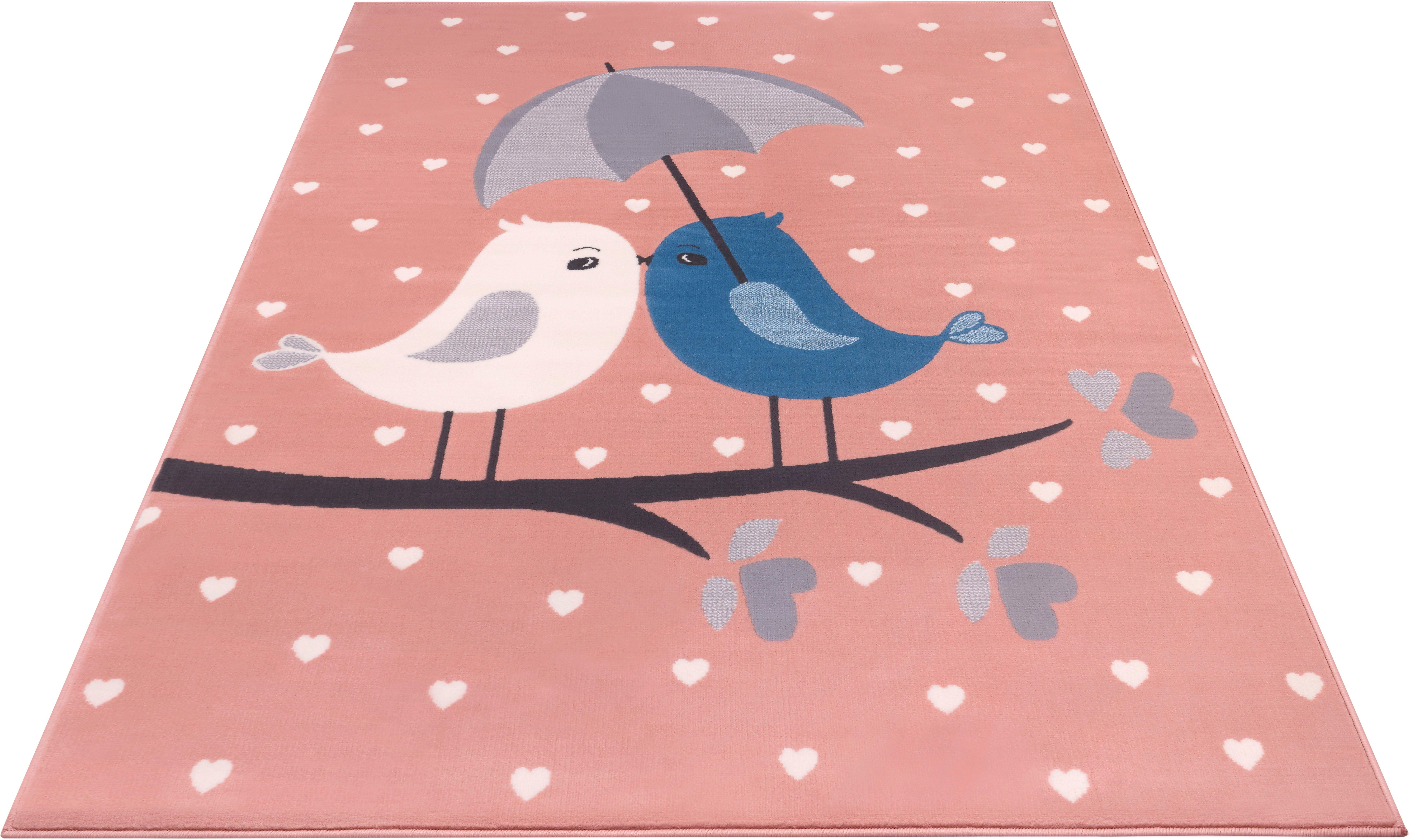 HANSE Home vloerkleed voor de kinderkamer »Love Birds« nu online bestellen