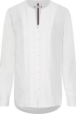 tommy hilfiger lange blouse wit