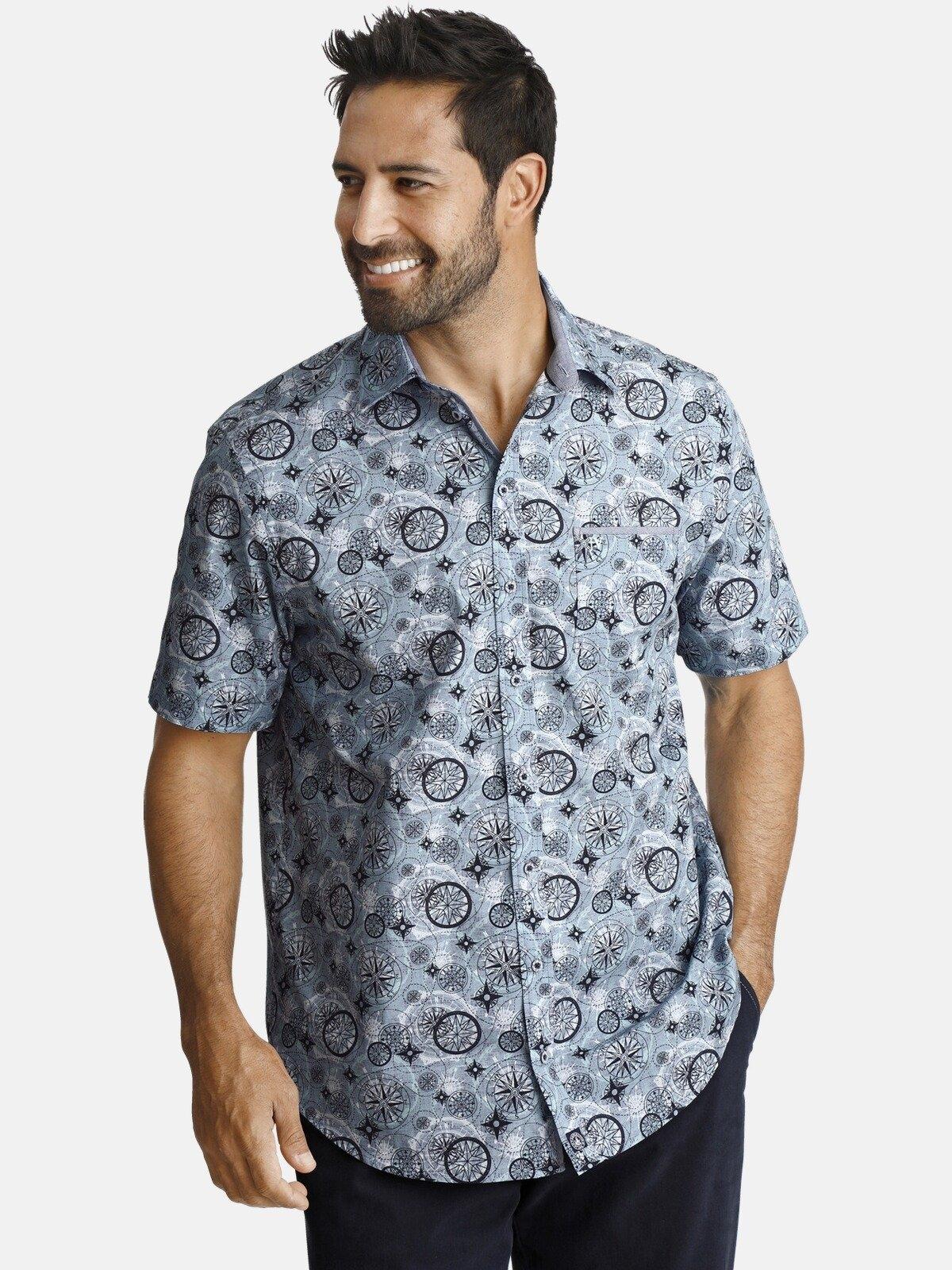 Jan Vanderstorm overhemd met korte mouwen »KLAAS« nu online bestellen