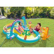intex zwembad dinoland play center (7-delig) multicolor