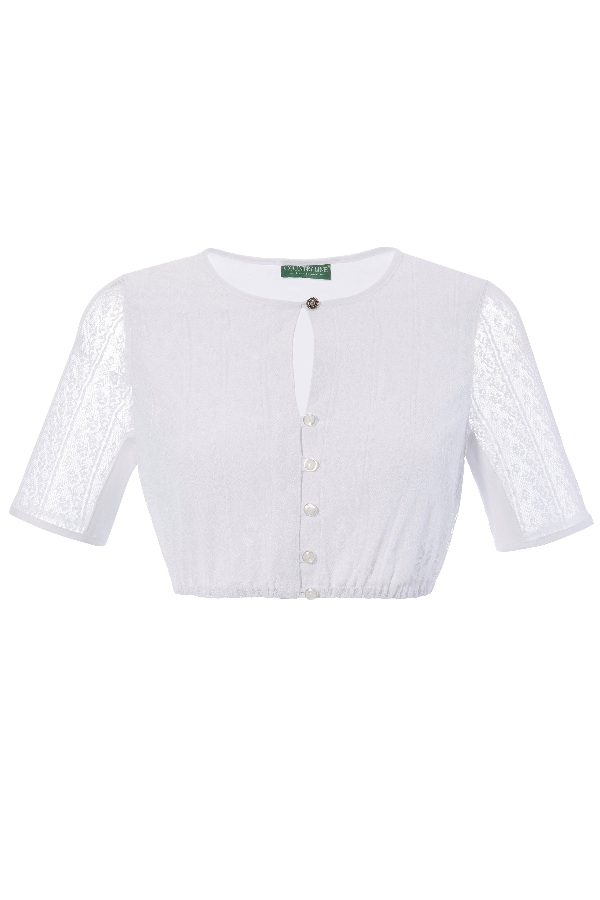 Country Line dirndlblouse Dames van prettig zachte kant met rugpand van elastisch katoen voordelig en veilig online kopen