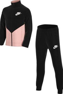 nike sportswear trainingspak (set, 2-delig) zwart