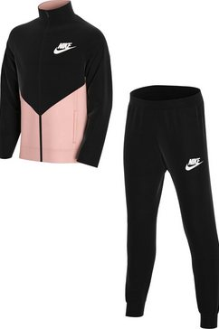 nike trainingspak »core futura play track suit« zwart