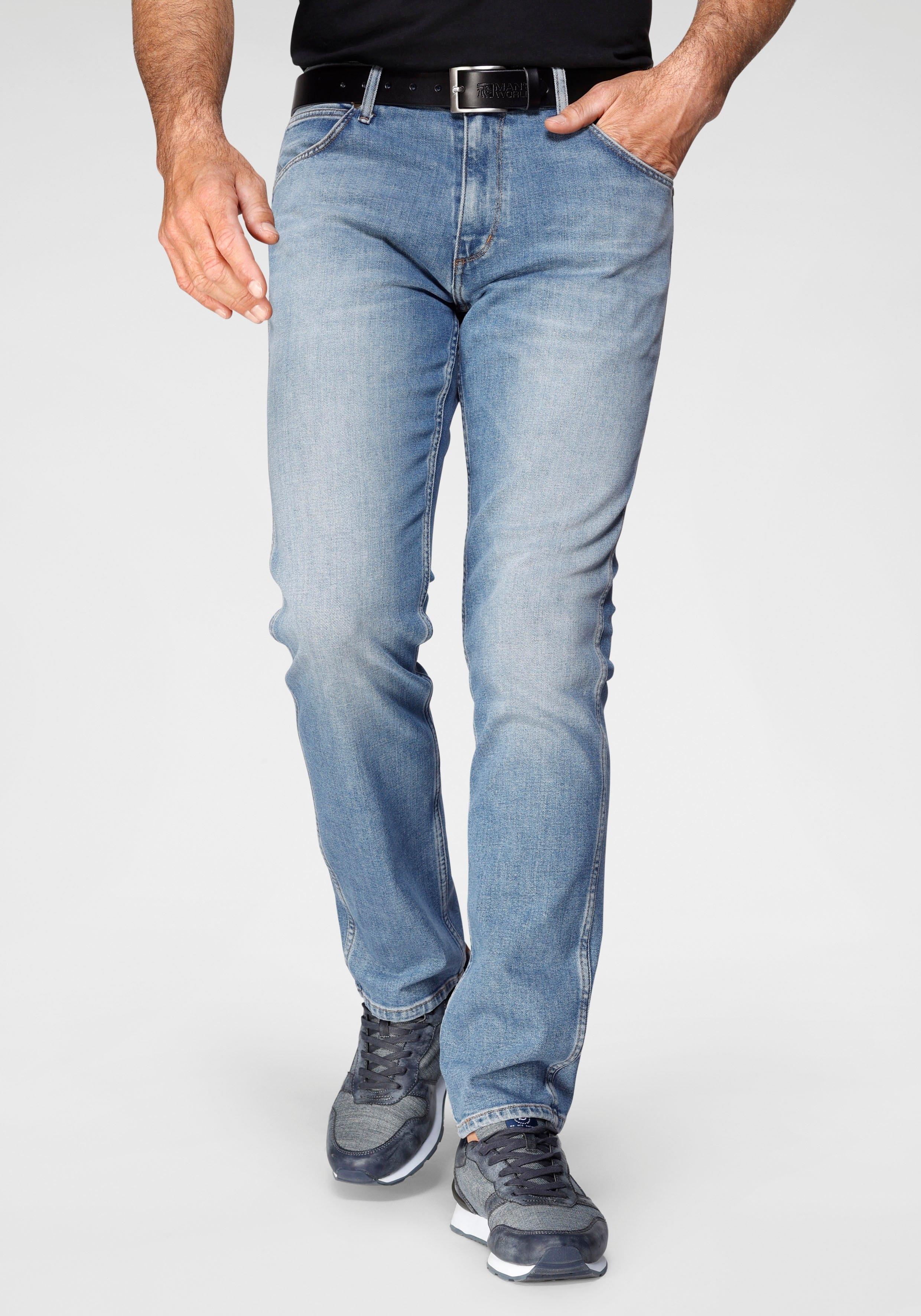 Wrangler Stretch jeans Greensboro Regular Straight bij OTTO online kopen
