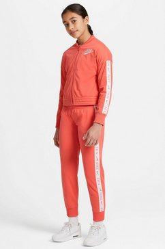 nike sportswear trainingspak trak suit tricot (set, 2-delig) oranje