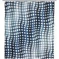 wenko douchegordijn studio hoogte 200 cm, polyester. wasbaar multicolor