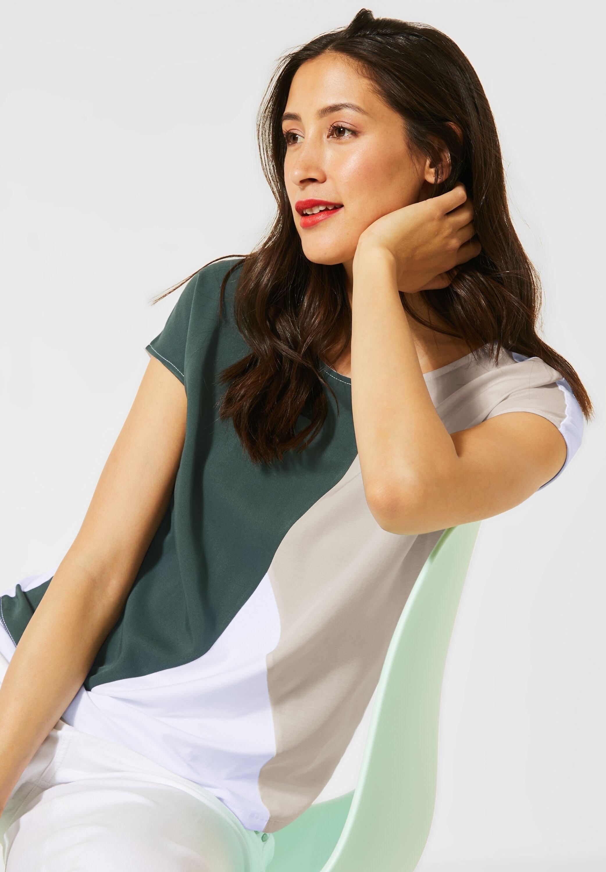 STREET ONE shirt met ronde hals - verschillende betaalmethodes