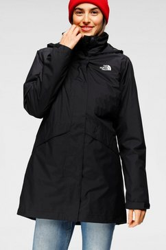 the north face functioneel 3-in-1-jack »arashi« zwart
