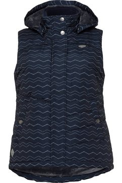 ragwear plus bodywarmer blauw