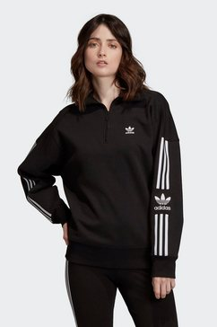 adidas originals sweatshirt »lock up sweat« zwart