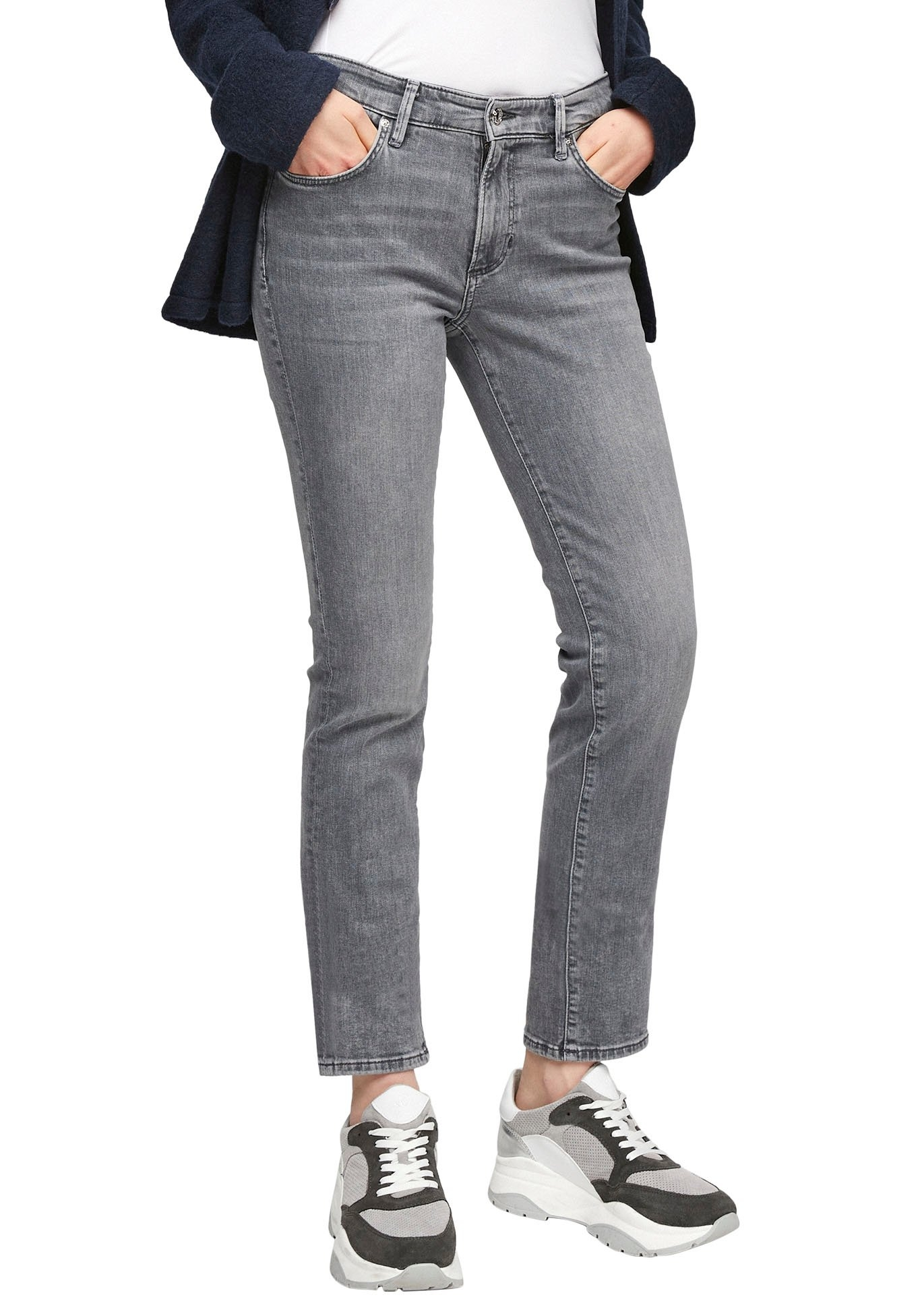 s.Oliver slim fit jeans »Betsy« nu online kopen bij OTTO