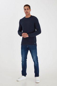 blend gebreide trui bhnaga blauw