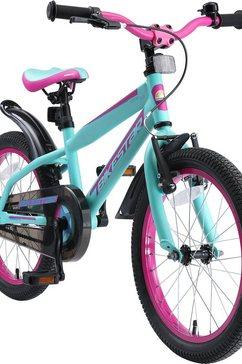 bikestar kinderfiets 1 versnelling paars