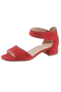 caprice sandaaltjes met onair-zool rood