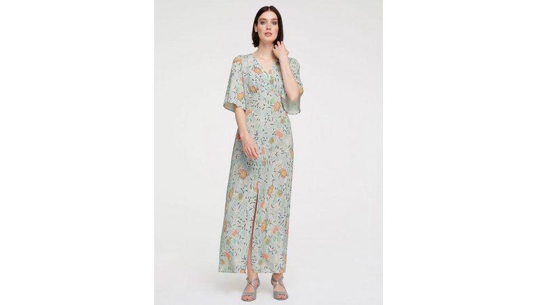 ASHLEY BROOKE by Heine gedessineerde jurk