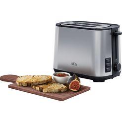 aeg »t4-1-4st deli 4« toaster zilver