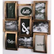 home affaire fotolijstcollage fotolijstjes, koper-zwart (1 stuk) zwart