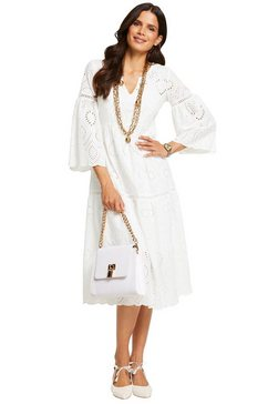 ashley brooke by heine kanten jurk jurk wit