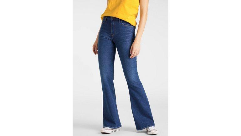 Lee® wijd uitlopende jeans Breese in lichte wassing