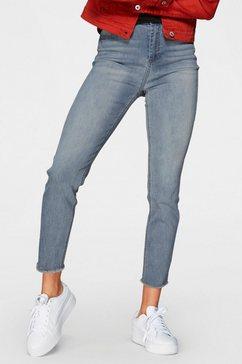 haily's high-waist jeans »toni« blauw