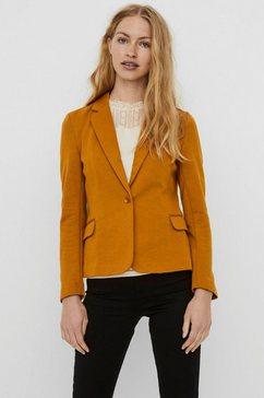 vero moda korte blazer »julia« geel