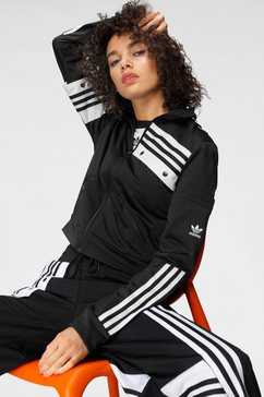 adidas originals trainingsjack zwart