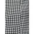 tamaris blouse met lange mouwen met sportieve mouwboorden zwart