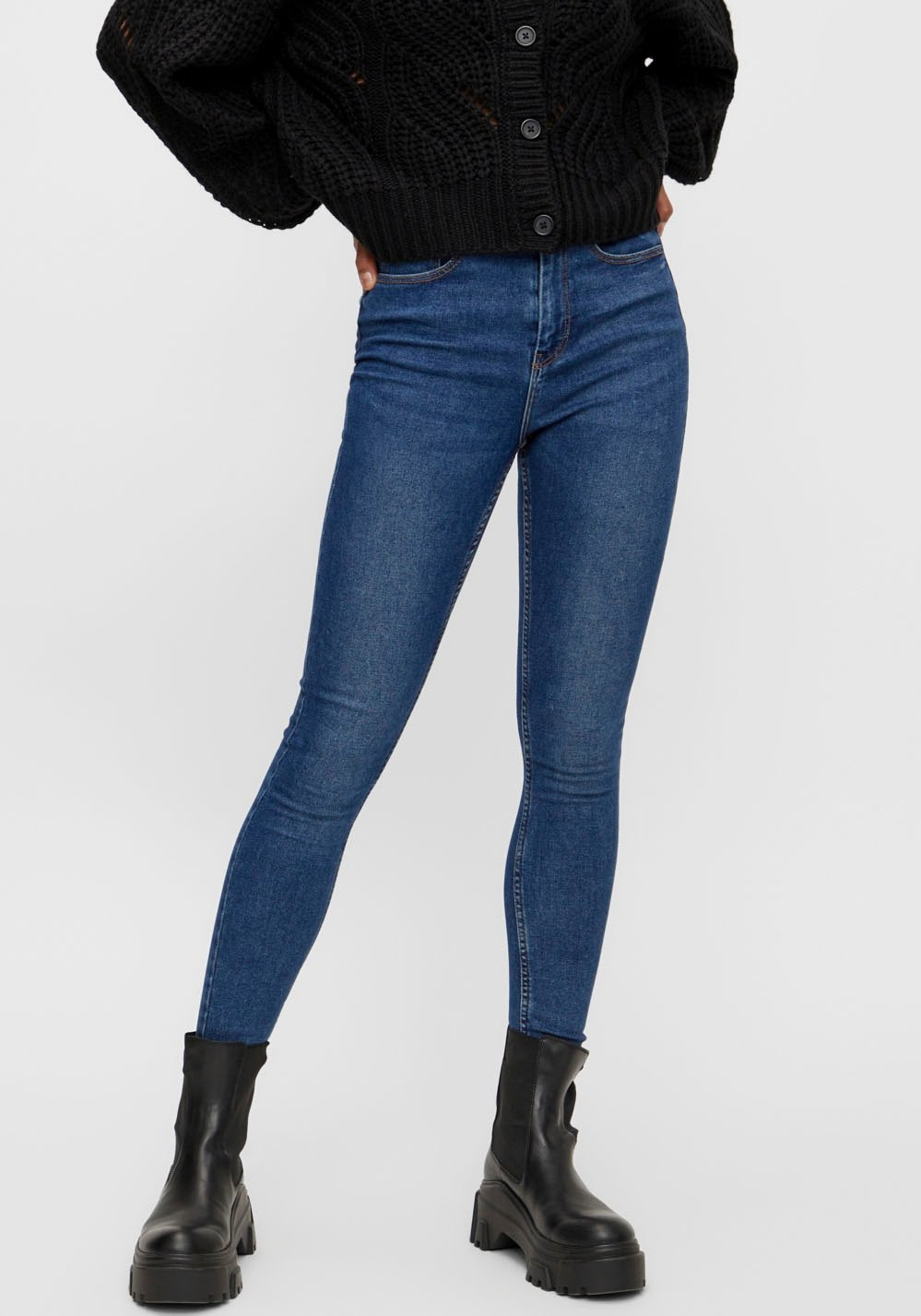 pieces Skinny fit jeans PCHIGHFIVE voordelig en veilig online kopen