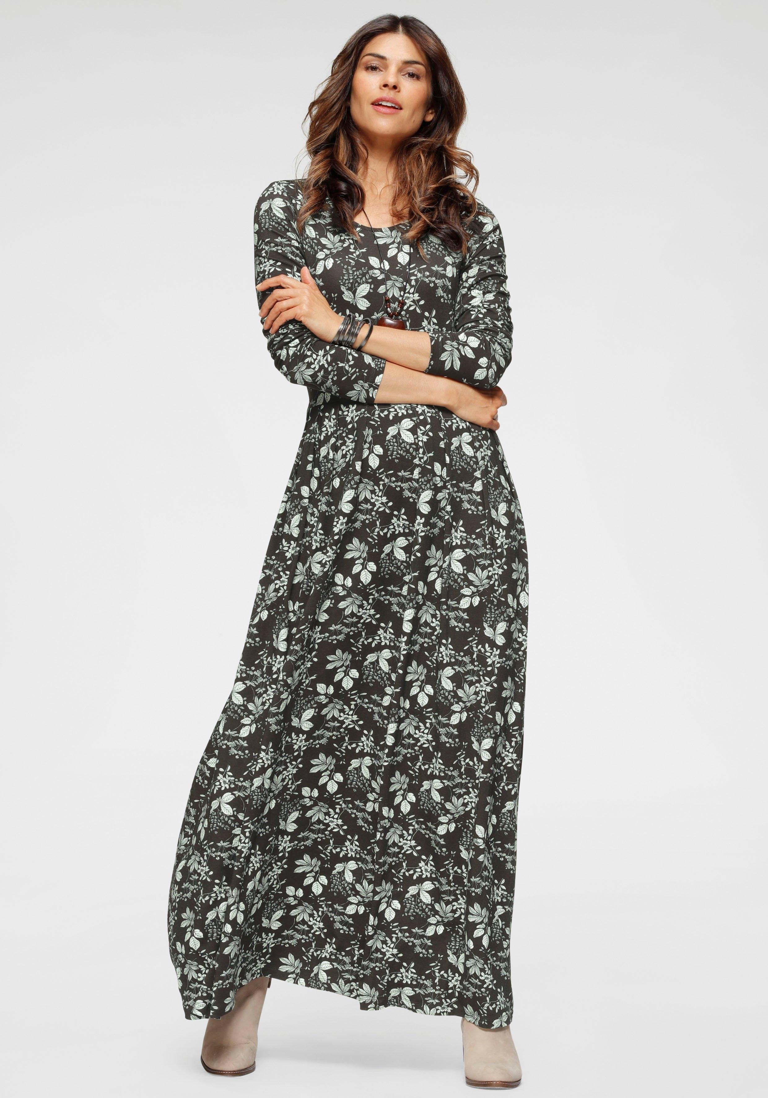 Boysen's maxi-jurk in uitlopend model - in 2 verschillende dessins nu online bestellen