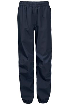 jack wolfskin regenbroek »rainy days pants kids« blauw