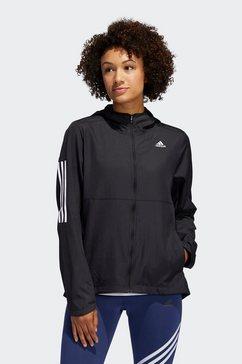 adidas performance runningjack adidas own the run wind jacket hooded women zwart