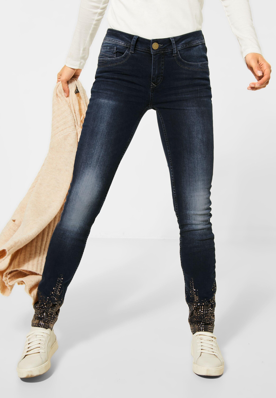 STREET ONE slim fit jeans goedkoop op otto.nl kopen