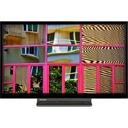 """toshiba led-tv 24wl3c63da, 60 cm - 24 """", hd ready, smart-tv zwart"""